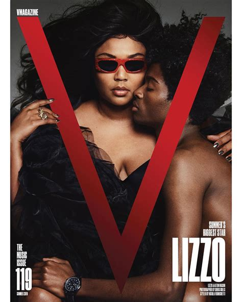 Lizzo Covers V Magazine Says Fck Boxes Im Too Big To