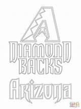 Diamondbacks Arizona Coloring Pages Mlb Indians Baseball Az Printable Diamond Backs Sports Cleveland Supercoloring Cardinals Sheets Template Paper Mets Main sketch template