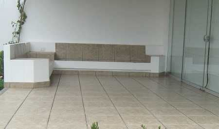 muebles de obra  concreto  tu terraza resistentes