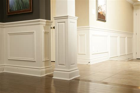 custom house plans wainscot paneling house of carpentry