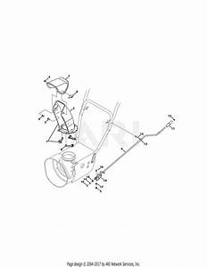Troy Bilt 31as62n2711 Storm 2410  2015  Parts Diagram For Standard Chute