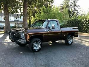 1977 Chevy Scottsdale K10 4x4 Reg Cab Short Bed 350 V8