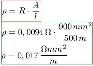querschnitt berechnen formel spannungsfall formel kfz