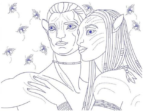Blue Avatar Coloring Pages Blue Avatar Coloring Pages Anime Coloring Pages Free