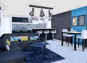Decoration Mur Interieur Salon : cuisine indogate cuisine moderne avec mur en pierre ~ Dailycaller-alerts.com Idées de Décoration