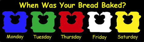 bread color code bread twists colors