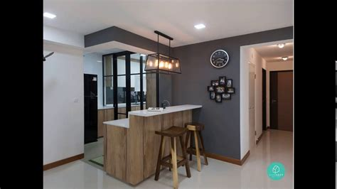 hdb 4 room kitchen design kitchen design for 4 room hdb flat 7015