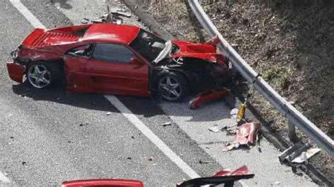 8 Ferraris In World's Most Expensive Car Crash