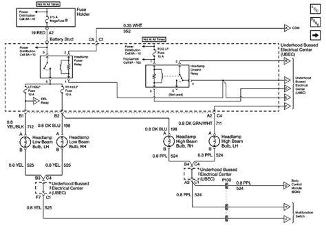 headlight wiring diagram 98 s 10 forum