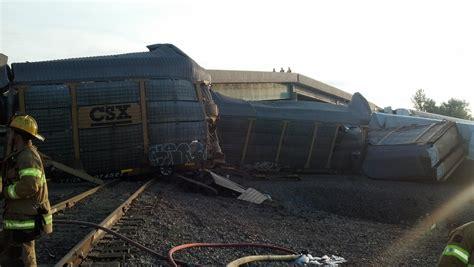 Freight Train Collision In Se Missouri, Bridge Collapsed