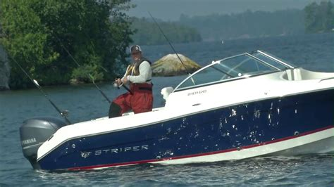 Dual Console Aluminum Fishing Boats by 21 Foot Dual Console Fishing Boat By Striper Boats