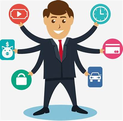 Administration Clipart Manager Jobs Management Empregos Ideal