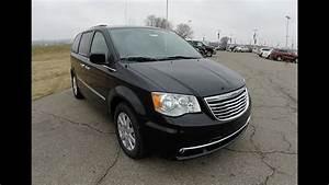 2015 Chrysler Town  U0026 Country Touring Black