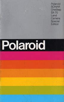polaroid instruction manuals polaroid madness ireland