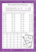 Each Row Of Fractions Equal In The Second Half Of This Math Worksheet Simplest Form Math Worksheet Fractions Simplest Form 4th Grade Math Skills Simplest Form Worksheet 1 Reduce Fractions To Simplest Form Worksheet