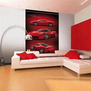 ferrari 458 italia tapete wandbild 2 32m x 1 58m neu With markise balkon mit cars tapete roller
