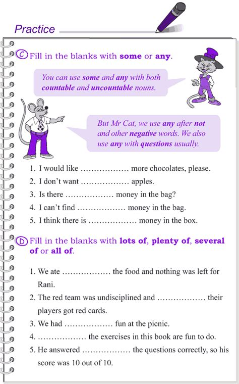 determiners worksheets for grade 4 grade 4 grammar lesson 14 determiners 3 english