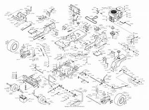 Dixon 4518k  2004  Parts Diagram For Chassis