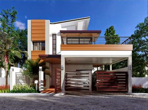 100 Square Meters House Plan 2 Storey — Modern House Plan