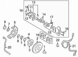 2001 Kia Wheel Bearing  Front   Bearing