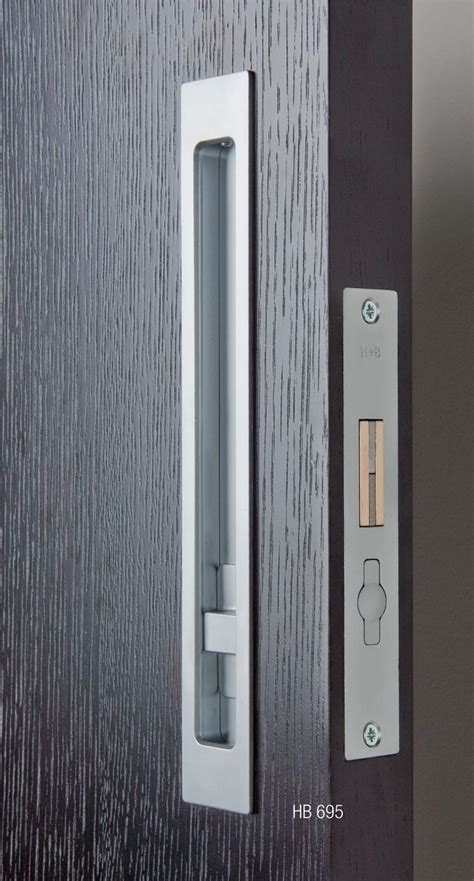sliding door hardware hb privacy lock halliday