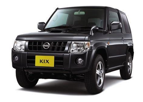nissan releases  kix mini suv  japan carscoops