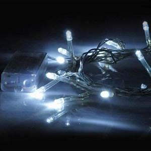 Guirlande Led Pile : guirlande lumineuse led piles lux et deco guirlandes led piles ~ Teatrodelosmanantiales.com Idées de Décoration