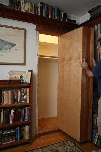Swinging Bookcase by Gun Bookcase Door And Gun Rooms On