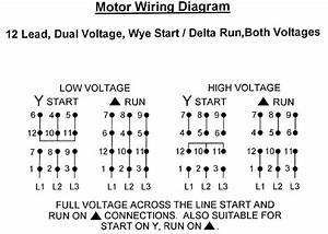 Baldor 12 Lead Motor Wiring Diagram