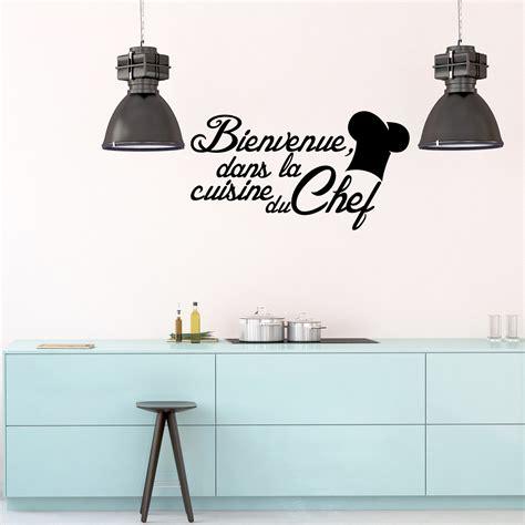 amour dans la cuisine sticker citation cuisine bienvenue dans la cuisine du chef