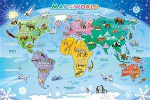 50 Beautiful World Maps Portrayed by Different Things