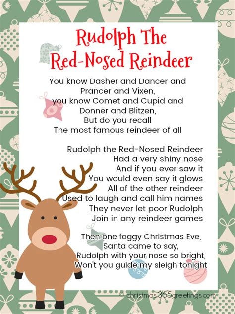 Christmas Kid Rudolph the Red Nosed Reindeer Song