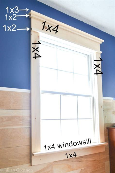 i was surprised that this diy farmhouse window trim actually seems easy to do there aren t