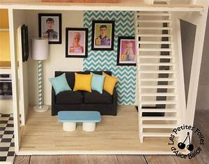 Meuble De Maison : maison de barbie 5 les meubles cuisine et salon les petites folies d 39 alice balice ~ Teatrodelosmanantiales.com Idées de Décoration