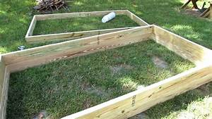 How To Quickly  U0026 Easily Build Raised Bed Garden Frames