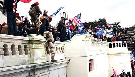 Law prof : Mob attack at US Capitol was 'insurrection