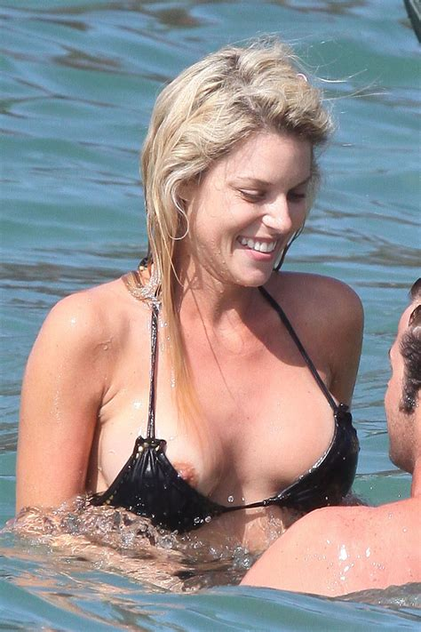 Carrie Prejean Nip Slip And Bikini Photos