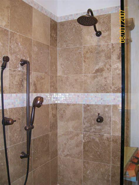 tiled bathroom shower ceramic tiled shower