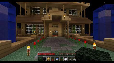 minecraft mini mansion youtube