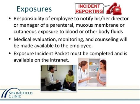 Bloodborne Pathogens Exposure Incident Report Form by Bloodborne Pathogens And Infection Control Training