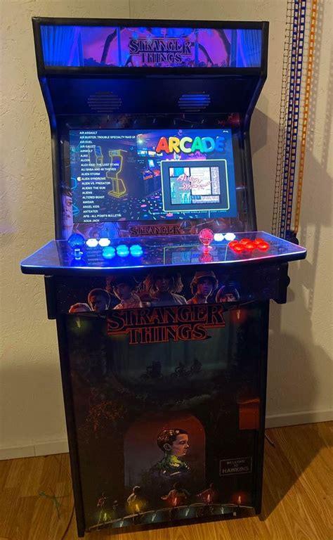tulsa arcades custom upright arcade