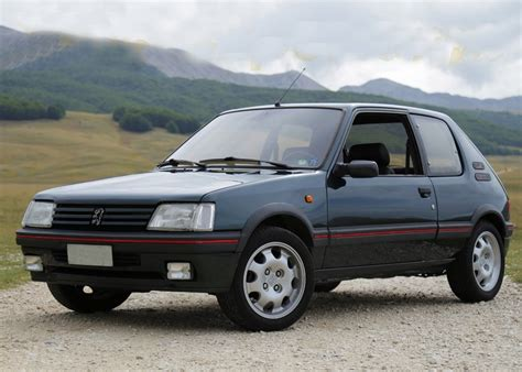 Peugeot 205 Gti by Ref 94 1989 Peugeot 205 Gti 1 9 Litre