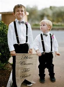 what are the children boys in your wedding party wearing With wedding ring bearer