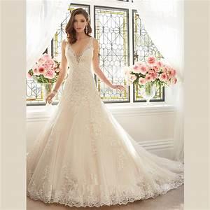 aliexpresscom buy 2016 luxury white lace wedding dress With court wedding dresses
