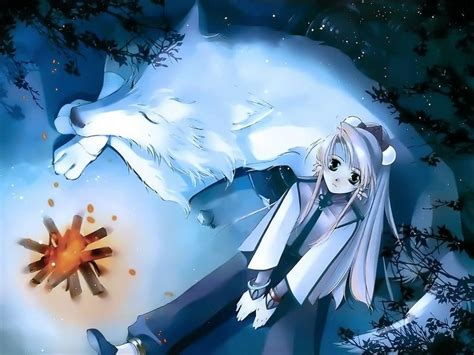 I am looking through google images on anime wolves and dogs and this popped up. The White Wolf Chapter -19- | BigCloset TopShelf