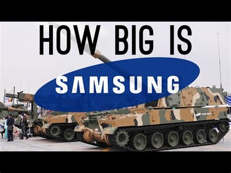 How Big Is Samsung? (they Have A Military Department