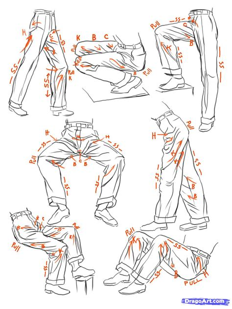 sketch anime clothes step  step anime people