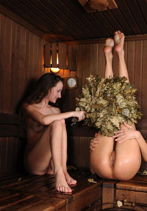 Two very hot russian babes in sauna | Russian Sexy Girls