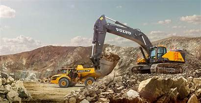 Excavator Excavators Volvo Hydraulic