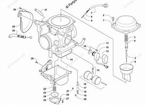 Arctic Cat Atv 2015 Oem Parts Diagram For Carburetor
